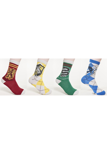 Merchcode MC1005 - Meias Harry Potter Pack de 4