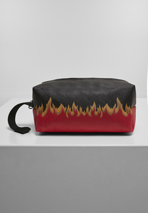 Mister Tee MT1504 - Flame Print Cosmetic Pouch