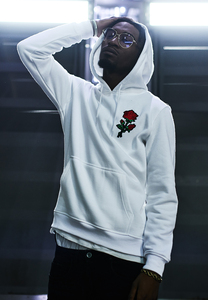 Mister Tee MT680 - Embroidered Rose Hoody