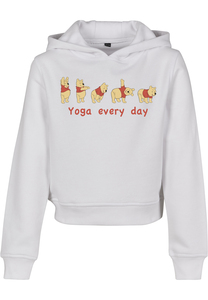 Mister Tee MTK096 - Kids Yoga Every Day Cropped Hoody