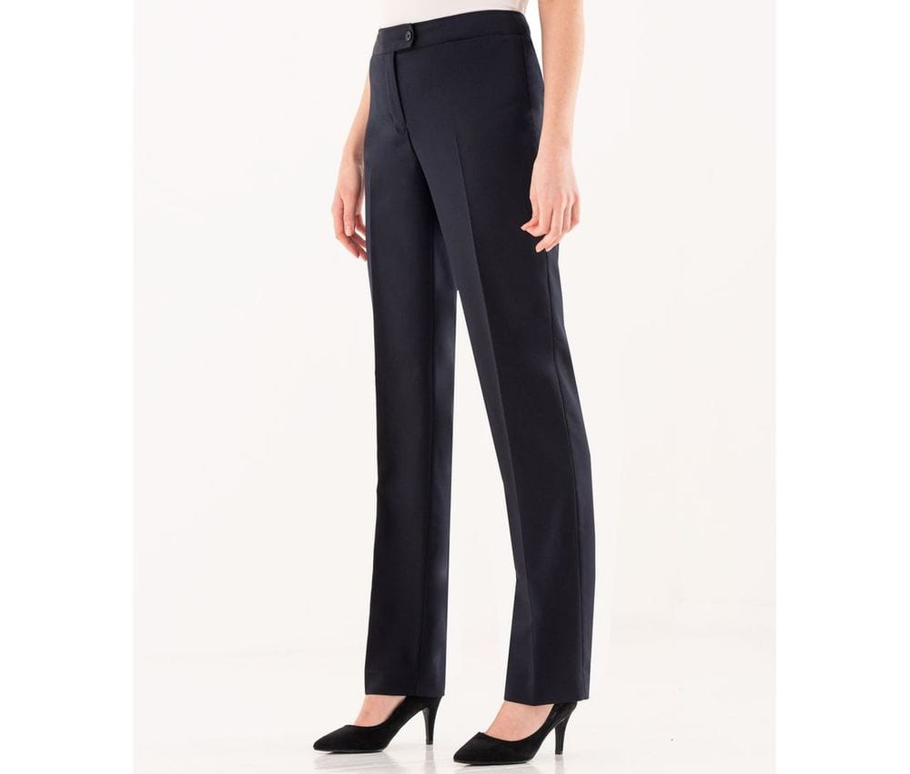 CLUBCLASS CC3007 - Women's tailor's trousers Regent
