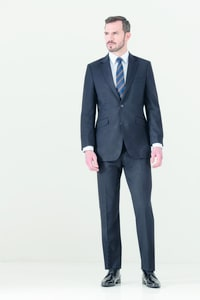 CLUBCLASS CCJ9502 - Titanium Fitted Suit Jacket