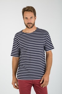 RUSSELL RU103M - T-shirt organique col V homme