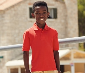 FRUIT OF THE LOOM SC3417 - Polo manches longues enfant