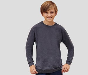 FRUIT OF THE LOOM SC6107 - Tee-shirt manche longue enfant