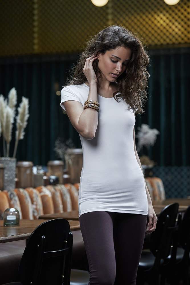TEE JAYS TJ455 - T-shirt femme stretch & extra long