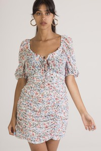 IVIVI 1DR1 - Flower print dress