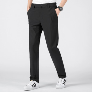 Modern and black pants