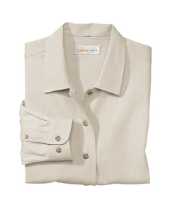 Il Migliore 77003 - Ladies Diamond Dobby Long Sleeve Shirt