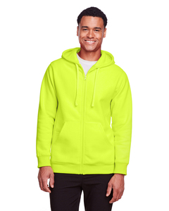 Team 365 TT95 - Mens Zone HydroSport Heavyweight Full-Zip Hooded Sweatshirt