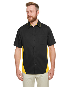 Harriton M586T - Mens Tall Flash IL Colorblock Short Sleeve Shirt