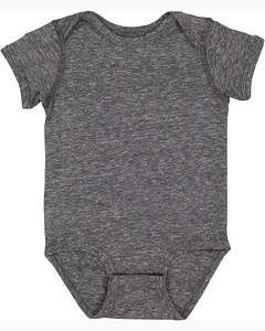 Rabbit Skins 4491 - Infant Harborside Melange Jersey Bodysuit