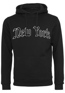 Mister Tee MT1577 - New York Wording Hoody