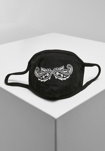 Mister Tee MT1608 - Paisley Mustache Face Mask
