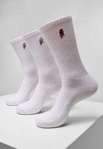Mister Tee MT2111 - Ice Cream Socks 3-Pack