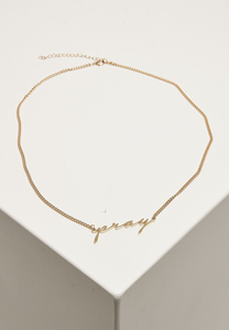 Mister Tee MT2125 - Pray Necklace