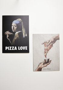 Mister Tee MT2143 - Pizza Art Exercise Book 2-Pack