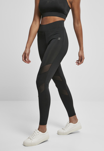 Starter Black Label ST164 - Ladies Starter Highwaits Mesh Leggings