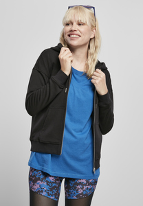 Urban Classics TB4075 - Ladies Organic Terry Zip Hoody