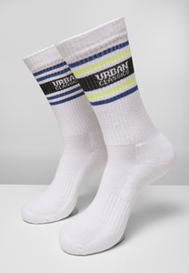 Urban Classics TB4226 - Logo Stripe Socks 4-Pack