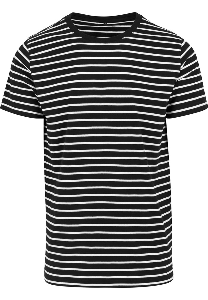 Build Your Brand BY073C - Stripe Tee
