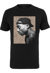 MT Men MT1686 - Tupac Cracked Backround Tee