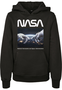 MT Kids MTK113 - Kids NASA Astronaut Hands Hoody