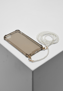 Urban Classics TB4334 - Phonecase with Pearl Necklace  I Phone 6/7/8