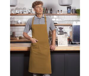 Karlowsky KYBLS5 - Basic bib apron with buckle and pocket
