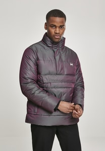 Shimmering Pull Over Puffer Jacket