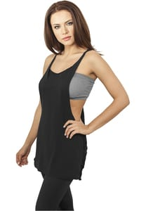 Ladies Side Knotted Loose Tank